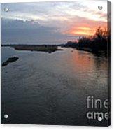 Platte River, Nebraska Acrylic Print