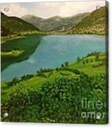 Plav Montenegro  Acrylic Print