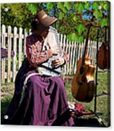 Play A Song For Me Acrylic Print