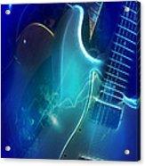 Play Them Blues Acrylic Print