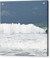 Playa Hermosa Wave Number Three Central Pacific Coast Costa Rica Acrylic Print