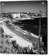 Playa Llarga And Cap De Salou Waterfront Properties On The Costa Dorada Catalonia Spain Acrylic Print
