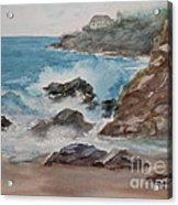 Playa Zicatela Mexico Acrylic Print
