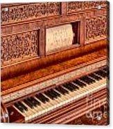 Piano Keys In The Key Of Life Acrylic Print
