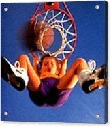 Playing Basketball Acrylic Print