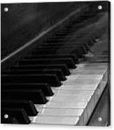 Playing The Piano Acrylic Print