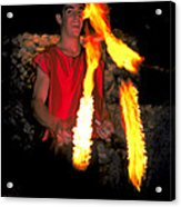 Playing With Fire Acrylic Print