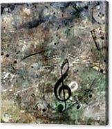 Playing Your Song Acrylic Print
