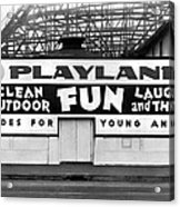 Playland At The Beach Acrylic Print