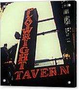 Playwright Tavern Acrylic Print