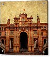 Plaza De Espana 1. Seville Acrylic Print
