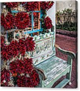Plaza Gifts Bench Acrylic Print