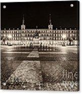 Plaza Mayor After Midnight Acrylic Print
