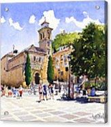 Plaza Nueva Acrylic Print