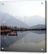 Pleasant View Of Dal Lake- Kashmir- India- Viator's Agonism Acrylic Print