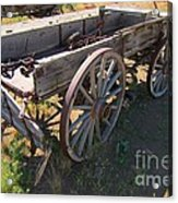 Please Dont Kick The Tires Acrylic Print by John Malone