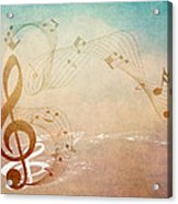 Please Dont Stop The Music Acrylic Print