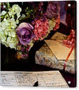 Please Sign In Acrylic Print