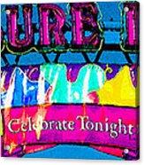 Pleasure Island Celebrate Tonight Acrylic Print