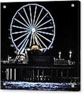 Pleasure Pier Ferris Wheel Acrylic Print