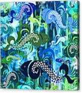 Plenty Of Fish In The Sea 1 Acrylic Print