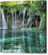 Plitvice Falls Acrylic Print