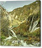 Plitvice Lakes  Acrylic Print