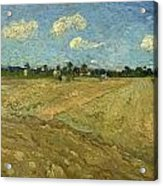 Ploughed Fields - The Furrows Acrylic Print
