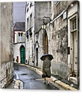 Pluie A Chartres - 1 Acrylic Print