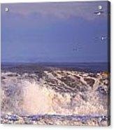 Plum Island Waves Acrylic Print