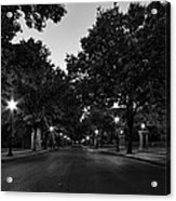 Plum Street To Franklin Square Acrylic Print