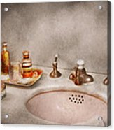 Plumber - First Thing In The Morning Acrylic Print by Mike Savad