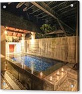 Plunge Pool At The Indigo Pearl Phuket Acrylic Print