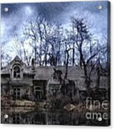 Plunkett Mansion Acrylic Print by Tom Straub