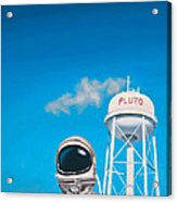 Pluto Acrylic Print