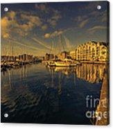Plymouth Barbican Marina  Acrylic Print