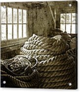 Plymouth Cordage Company Ropewalk Acrylic Print