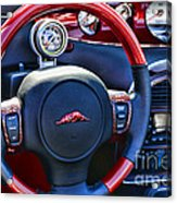 Plymouth Prowler Steering Wheel Acrylic Print