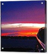 Pn Sunset Acrylic Print