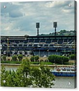 Pnc Park Pittsburgh Pirates Acrylic Print by Angelo Rolt