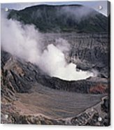 Poas Volcano National Park Costa Rica Acrylic Print