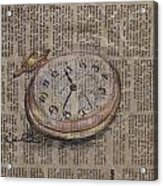 Pocket Watch Acrylic Print