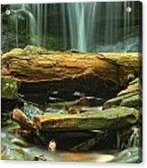 Poconos Cascades Acrylic Print