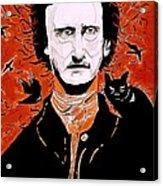 Poe Poe Acrylic Print by Tyler Schmeling