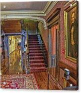 Poinsette Room Acrylic Print