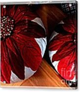 Poinsettias - Handmade - Crafts - Pumpkins Acrylic Print