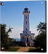 Point Abino Lighthouse Path Acrylic Print