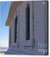 Point Abino Lighthouse Windows Acrylic Print