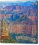 Point Imperial At 8803 Feet On North Rim Of Grand Canyon National Park-arizona   Acrylic Print