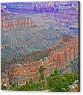 Point Imperial On North Rim Of Grand Canyon National Park-arizona   Acrylic Print